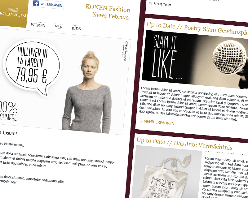 Konen & BRAM Newsletter